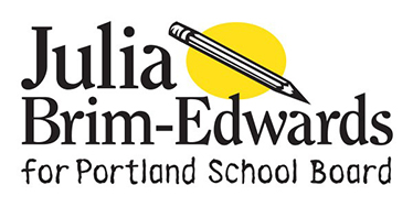 Julia for Portland School Board  In the News